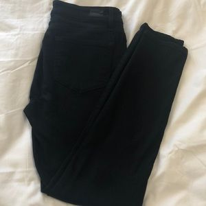 Paige Jet Black Verdugo Super Stretch Jeans